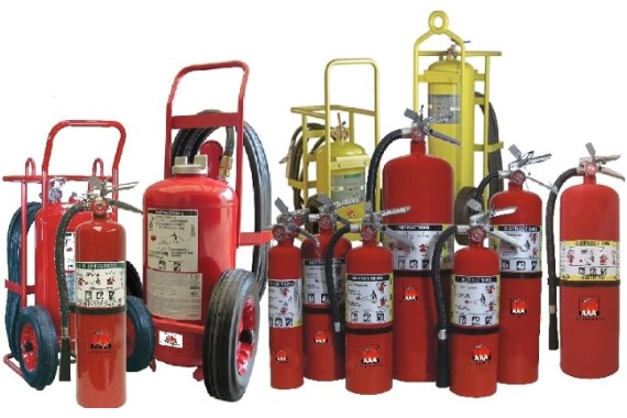 Class ABC Fire Extinguishers
