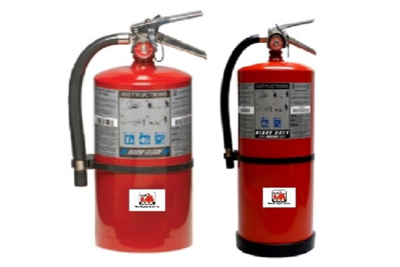 High Flow Fire Extinguishers