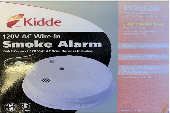 Wired Smoke Alarms